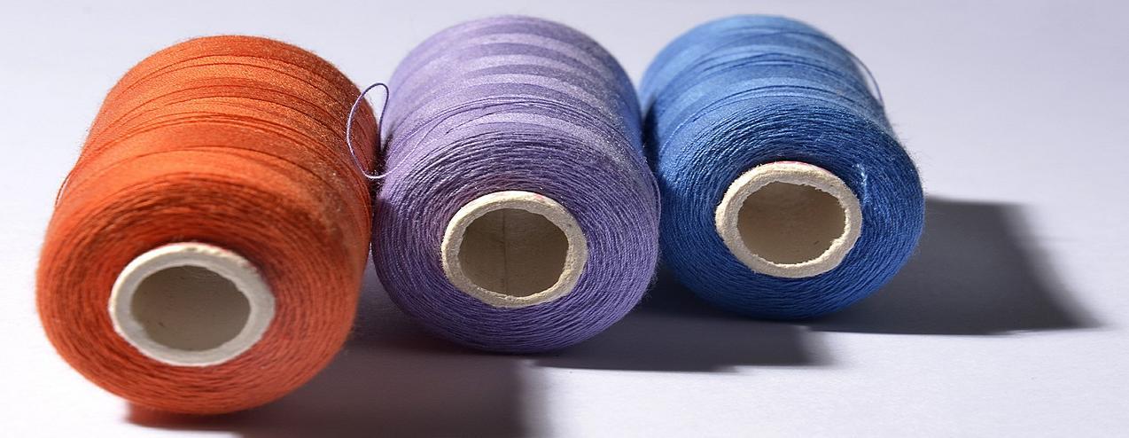 Como escolher a linha de costura?