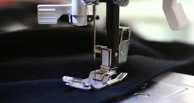 Problemas para passar a linha na máquina de costura