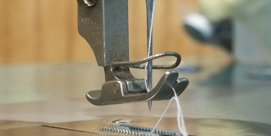 Problemas comuns em agulhas de costura