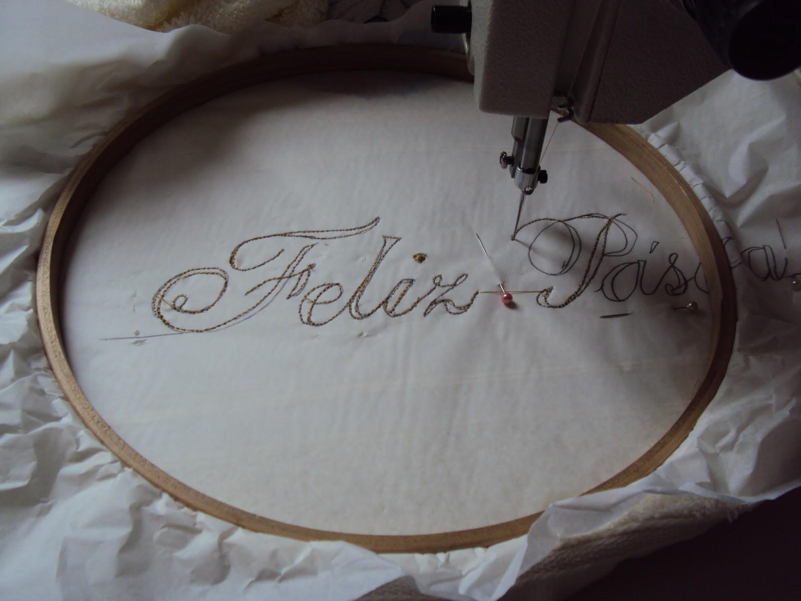 Como bordar letras e números com máquina de costura?